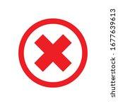 close icon for graphic design... | Shutterstock .eps vector #1677639613
