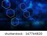 abstract technology background | Shutterstock . vector #167764820