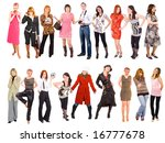 two groups of us | Shutterstock . vector #16777678