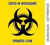 updated biohazard coronavirus... | Shutterstock .eps vector #1677800410