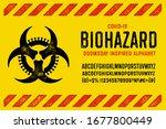 coronavirus apocalypse inspired ... | Shutterstock .eps vector #1677800449