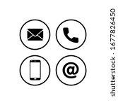 communication icon symbol... | Shutterstock .eps vector #1677826450