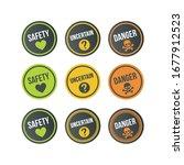 set of labels  gradation of... | Shutterstock .eps vector #1677912523