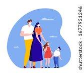 coronavirus epidemic warning... | Shutterstock .eps vector #1677931246