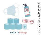 shortage phenomenon due to... | Shutterstock .eps vector #1677959326