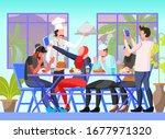 flat vector illustration...   Shutterstock .eps vector #1677971320
