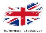 great britain flag brush stroke ... | Shutterstock . vector #1678007239