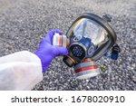 Full Face Respirator Protective ...