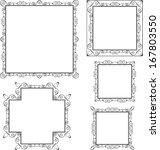 frame border design | Shutterstock .eps vector #167803550