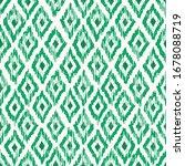 hand drawn monochrome emerald... | Shutterstock .eps vector #1678088719