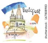 budapest | Shutterstock .eps vector #167808983