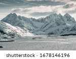 Mountains In Lofoten  Norway ...