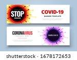 coronavirus covid 19 sars cov 2 ... | Shutterstock .eps vector #1678172653
