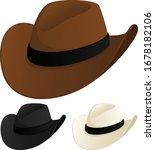 vector illustration of a cowboy ... | Shutterstock .eps vector #1678182106