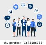 business vector illustration.... | Shutterstock .eps vector #1678186186