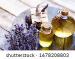 Concept Of Natural Organic Oil...