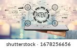 Patent Concept With Man Holding ...
