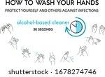 personal hygiene  disease... | Shutterstock .eps vector #1678274746