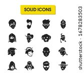 avatar icons set with teenager  ...