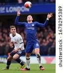 Small photo of LONDON, ENGLAND - FEBRUARY 22, 2020: Ross Barkley of Chelsea London pictured during the 2019/2020 Premier League game between Chelsea London and Tottenham Hotspur at Stamford Bridge stadium.
