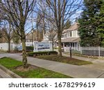 Small photo of Kirkland, WA / USA - circa March 2020: Street view of Aegis Living elderly care facility in the Totem Lake area amidst the COVID-19 outbreak.