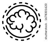 brainstorming icon. outline...   Shutterstock .eps vector #1678301620