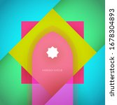 ramadan kareem abstract... | Shutterstock .eps vector #1678304893