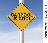 a environmental road sign...   Shutterstock . vector #167833418