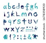 Alphabet. Made With The Usage...