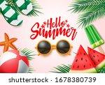 summer vector banner design....   Shutterstock .eps vector #1678380739