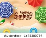 summer text vector banner...   Shutterstock .eps vector #1678380799