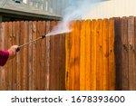High Pressure Washing The...