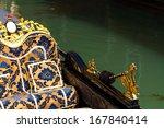 gondola in venice italy   Shutterstock . vector #167840414