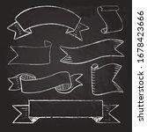 set of vintage chalkboard style ... | Shutterstock .eps vector #1678423666