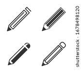 pencil icon template color...