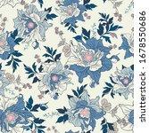 seamless elegant pattern with... | Shutterstock .eps vector #1678550686