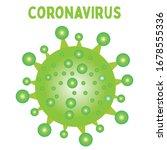 coronavirus covid 19 vector... | Shutterstock .eps vector #1678555336