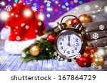composition with retro alarm... | Shutterstock . vector #167864729