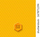 seamless geometric pattern with ... | Shutterstock .eps vector #167871194