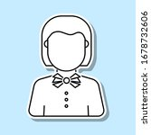 teacher avatar sticker icon....