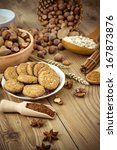 cookies arrangement on the table | Shutterstock . vector #167873876