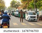 Editorial Traffic Cop Policema...