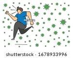 hand drawn vector illustration... | Shutterstock .eps vector #1678933996