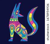 vector cute colorful cartoon... | Shutterstock .eps vector #1678954936