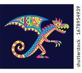 vector cute colorful cartoon...   Shutterstock .eps vector #1678954939