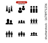 people icon or logo isolated... | Shutterstock .eps vector #1678971256