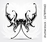 maori styled tattoo patterns... | Shutterstock .eps vector #167899460