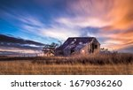 Old Rural Farmhouse In The...