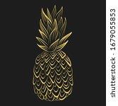 vector tropical food... | Shutterstock .eps vector #1679055853