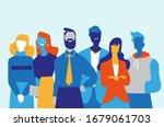 successful professionals team...   Shutterstock .eps vector #1679061703